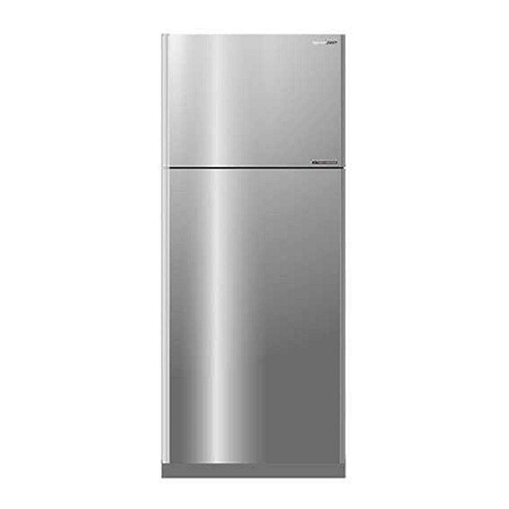 ตู้เย็น2ประตู SHARP SJ-X410T-SL INVERTER 14.4คิว สีเงิน