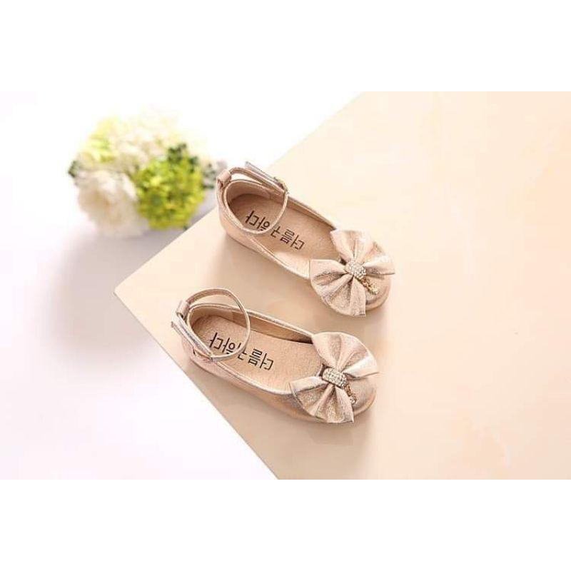 รองเท้าคัชชูเด็ก B129 รองเท้าออกงานเด็ก รองเท้าเด็กหญิง พร้อมส่งจากไทย NqxW