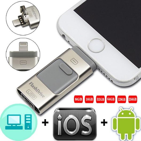 Usb 3 . 0 แฟลชไดรฟ์สําหรับ Iphone 11/x/8/7/7 Plus/6/6s/5/se/8gb 64gb