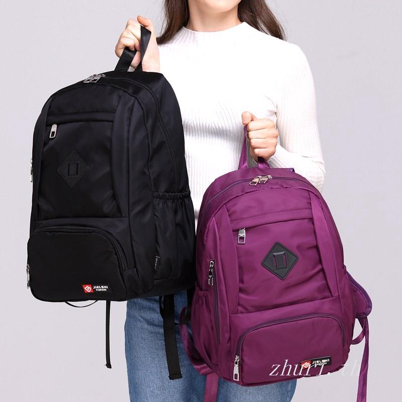 Jielangshi กระเป๋าเป้สะพายหลังหญิง 18 ฟอร์ดกระเป๋าเดินทางเป้