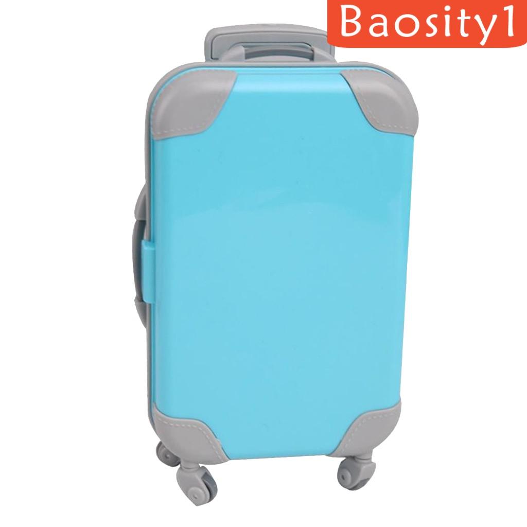 ( Baosity 1 ) กระเป๋าเดินทางขนาด 18 นิ้วสําหรับตุ๊กตา American Doll
