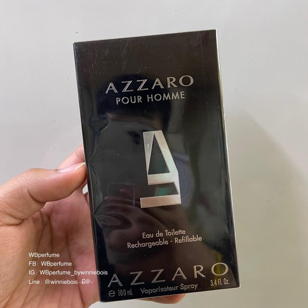 น้ำหอมแท้100% AZZARO POUR HOMME EDT 100 ML.