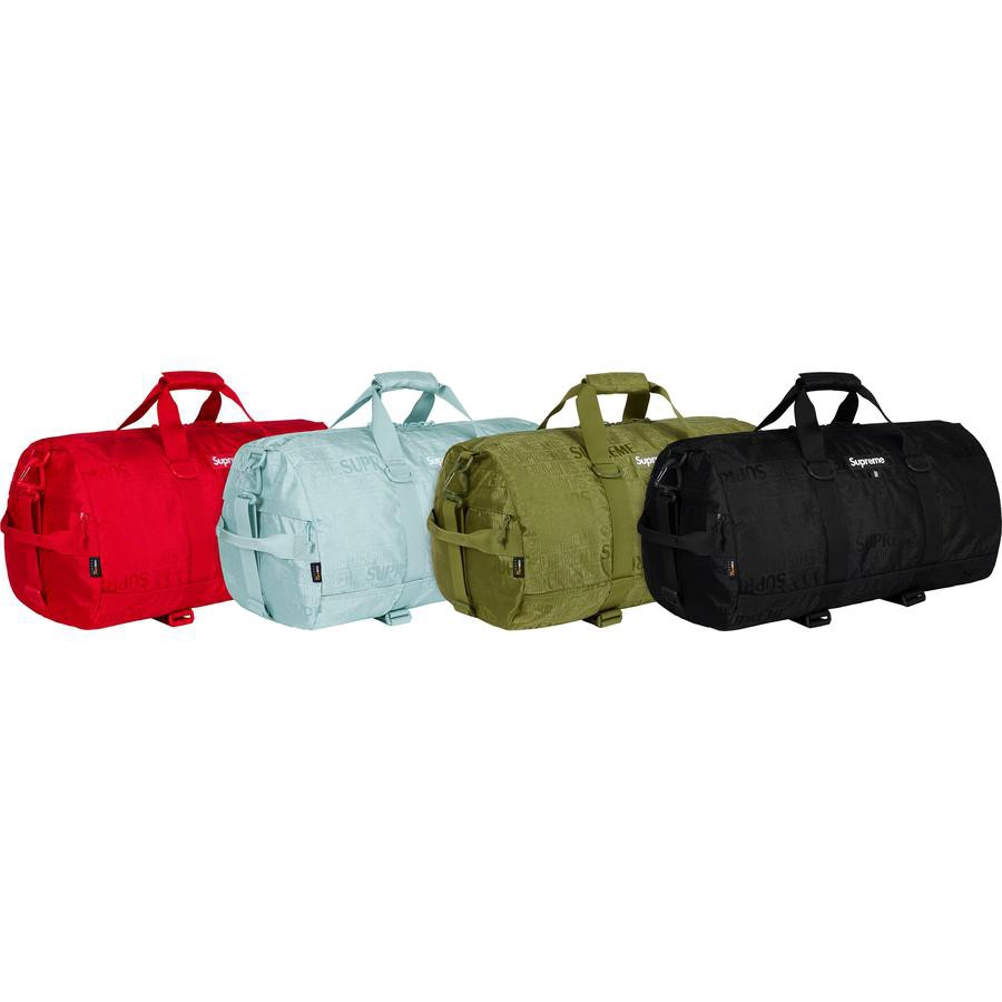 Supreme 19SS 46TH Duffle Bag 1:1 กระเป๋าถือ กระเป๋าสะพายความจุขนาดใหญ่ กระเป๋าออกกำลังกาย  กระเป๋าเดินทาง