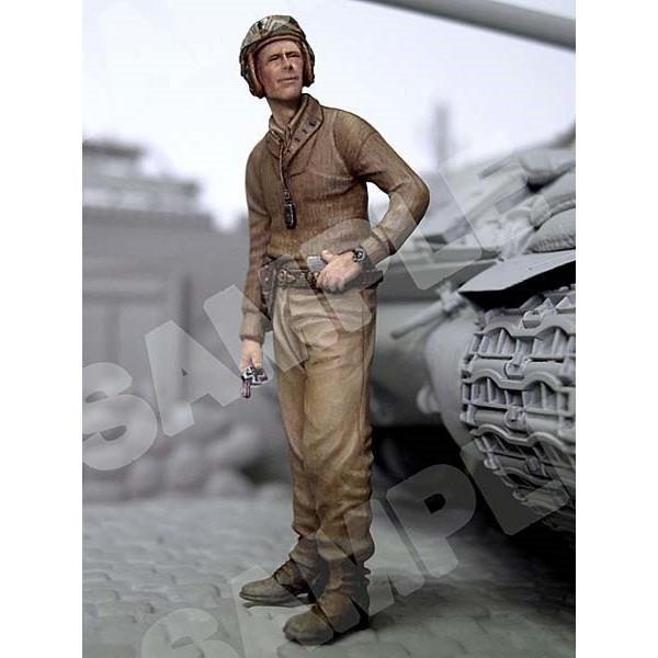 ☊Resin Figure Kit 1/35 WW2 US TANK CREW Unpainted Garage Model