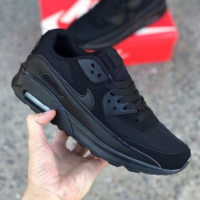 A22 Nike Airmax 90 ( All Black ) รองเท้ากีฬาลำลองสำหรับผู้ชาย