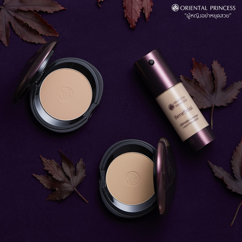 (ปกปิดขีดสุด) Beneficial Ultimate Coverage Foundation Powder