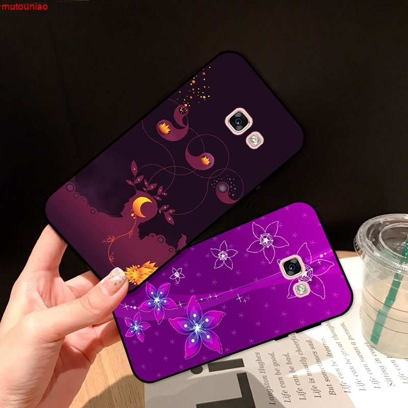 Samsung A3 A5 A6 A7 A8 A9 Pro Star Plus 2015 2016 2017 2018 HCXT Pattern-5 Silicon Case Cover