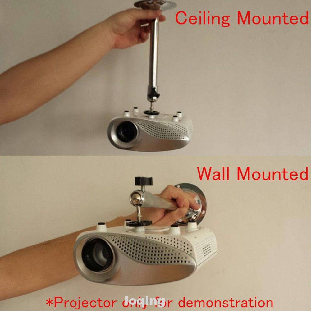 อุปกรณ์เสริมที่แขวนโปรเจคเตอร์ขนาดเล็กปรับได้ทนทาน