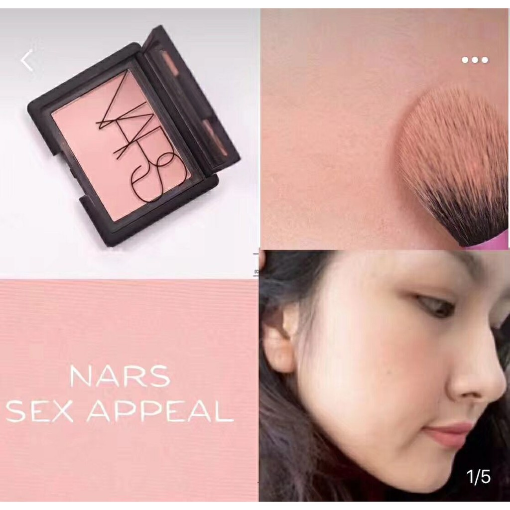Billigeste pris Nars Blush 48G Nars Sex Appeal-9766