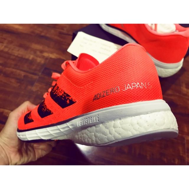 รองเท้าวิ่ง adidas adizero japan 5