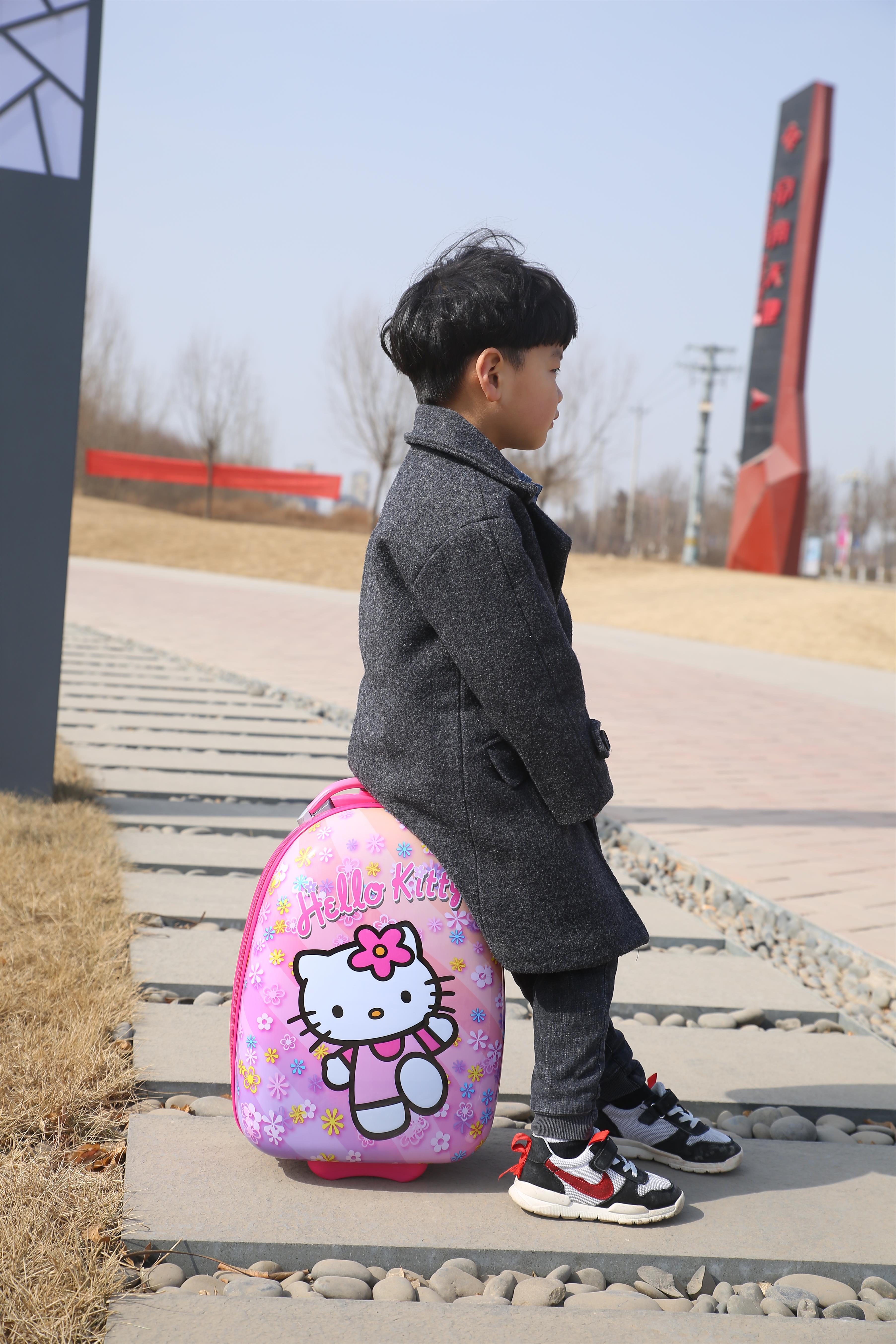 ⊗まรถเข็นเด็กกระเป๋าเดินทางหญิงเจ้าหญิงน่ารักการ์ตูนเด็กกระเป๋าชาย18นิ้ว16นิ้วกระเป๋าเดินทางนักเรียน