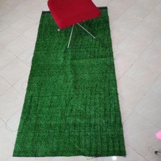 (เก็บเงินปลายทาง)หญ้าเทียม 3ขนาด รุ่นหญ้าสูง1และ2cm (เลือก)