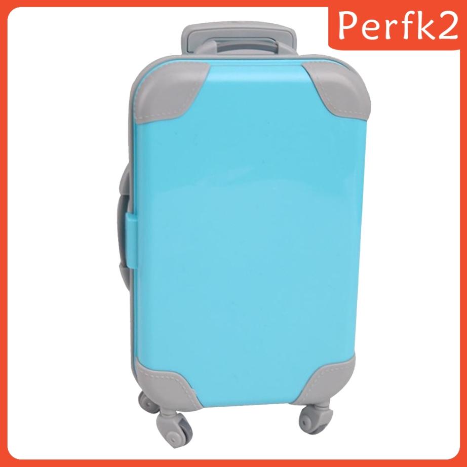 ( Perfk ) กระเป๋าเดินทางขนาดเล็ก 18 นิ้วสําหรับตุ๊กตา