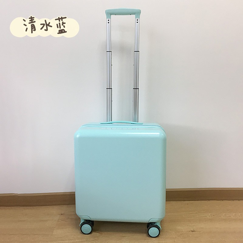 ของแท้VIHUSกระเป๋าเดินทางผู้หญิงใบเล็ก นักศึกษาวิทยาลัยล้อสากลกันกระแทกเงียบ2021ใหม่ที่มีน้ำหนักเบากระเป๋าเดินทาง18นิ้ว