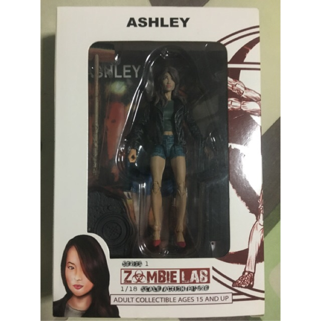 Zombie Lab Action Figure 1:18, Ashley