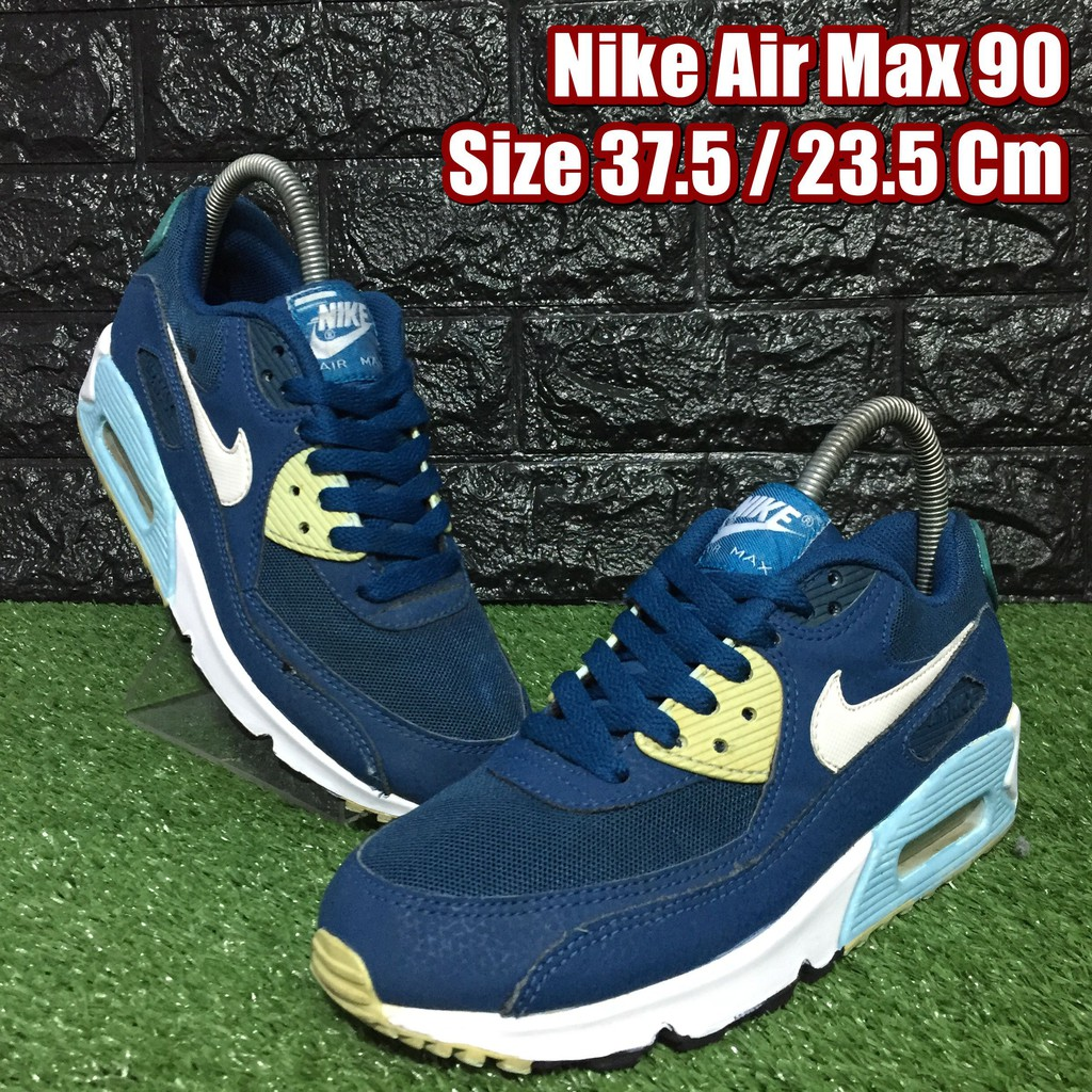 Nike Air Max 90 รองเท้าผ้าใบมือสอง Size 37.5 / 23 Cm