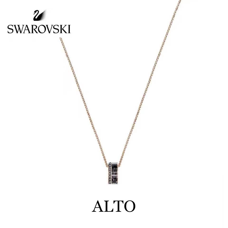 Swarovski ALTO สวารอฟส ของแท้ 100%สร้อยคอจี้ไล่ระดับราชินีหงส์น้อย  ส่งของขวัญให้แฟนสร้อย