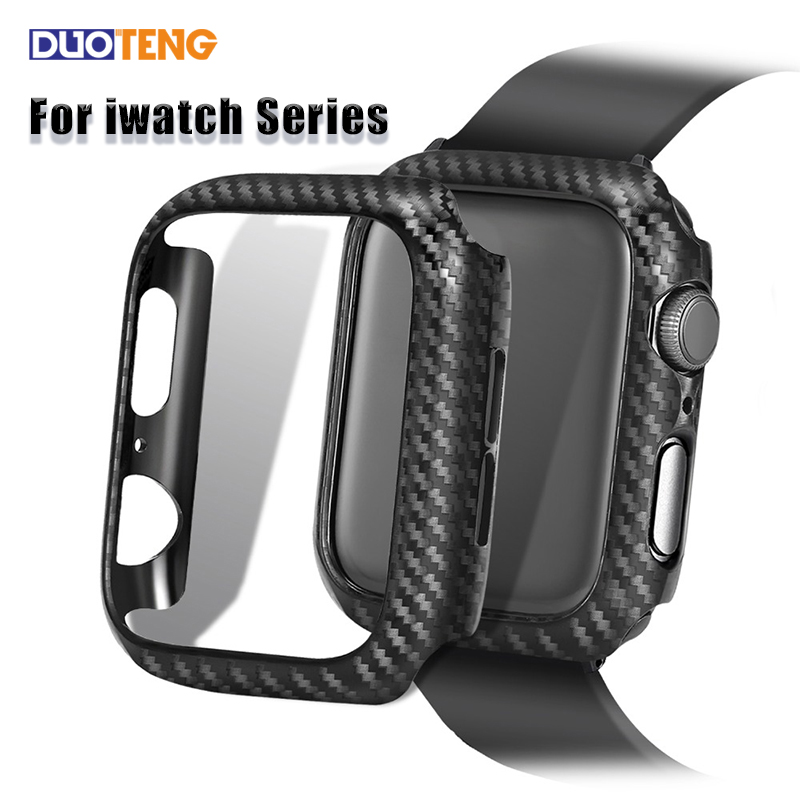 Duo Teng Protective Case for Apple watch Cover 38mm 44mm 40mm 42mm for iwatch 5 4 3 2 Protector Case Bumper Smart Watch Accessories