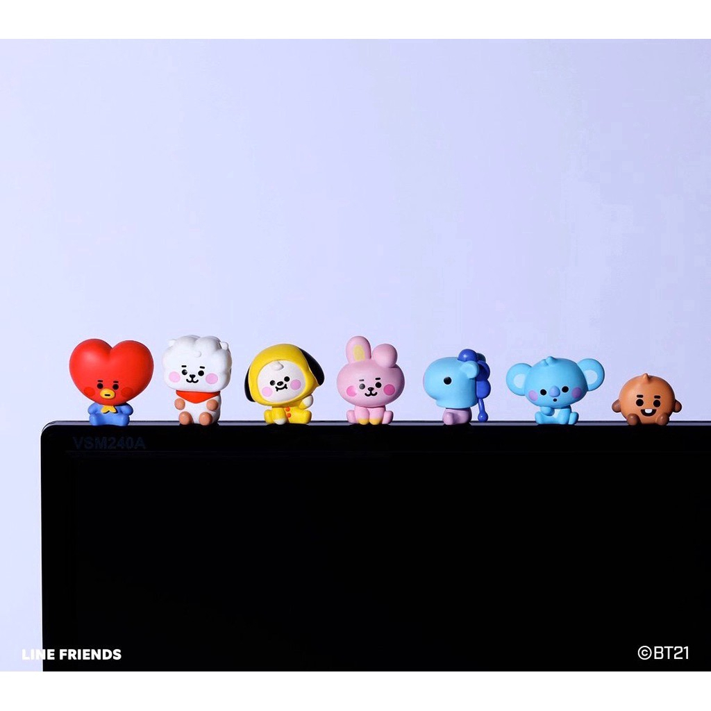 A135 A136 100% official BT21 BTS original authentic Baby version monitor figures