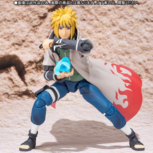 2019 Hot Sale S.H Figuarts Namikaze Minato Naruto Shippuden Action Figure