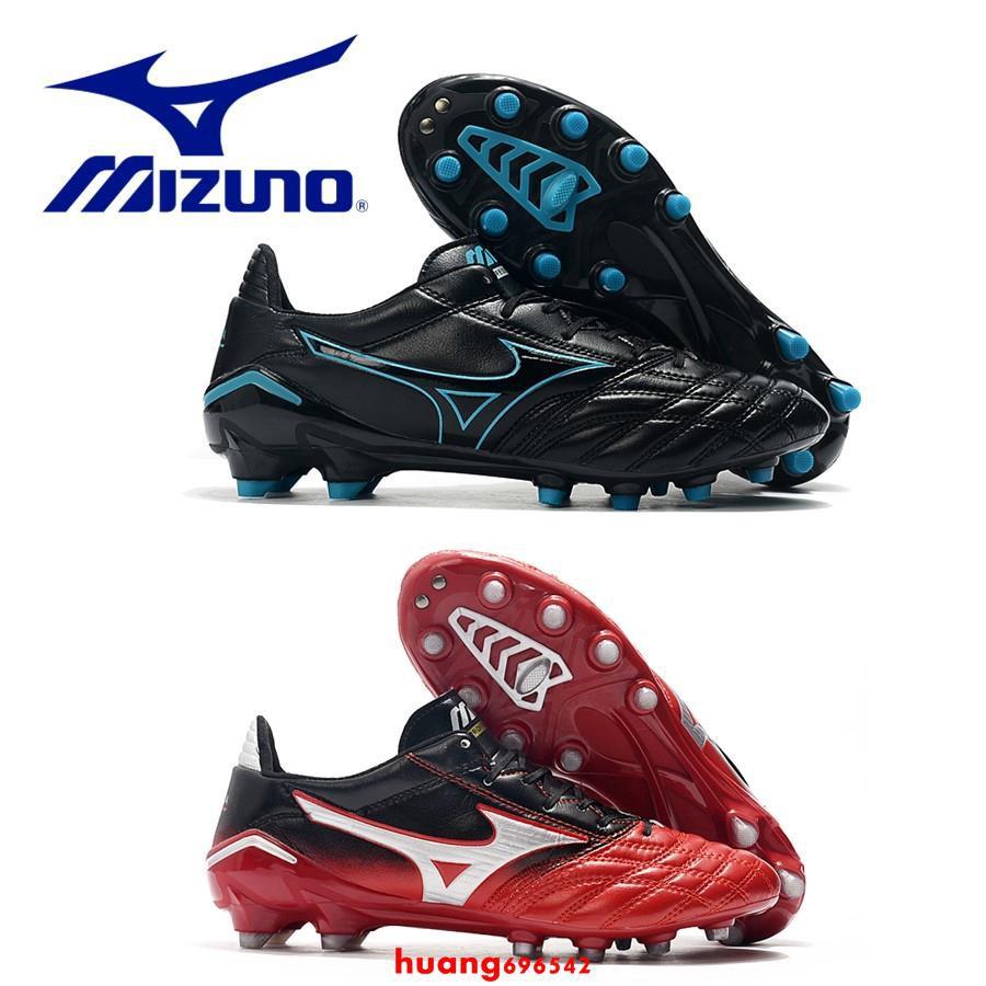 จุดMizun.o Morelia Neo II FG รองเท้าฟุตบอล Mizuno Moreira ซี