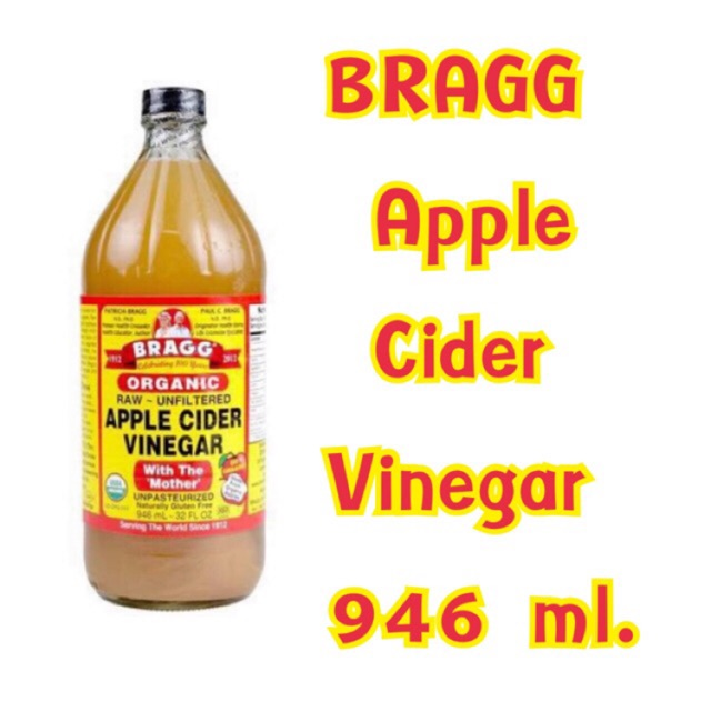 Bragg Apple Cider Vinegar 946ml.