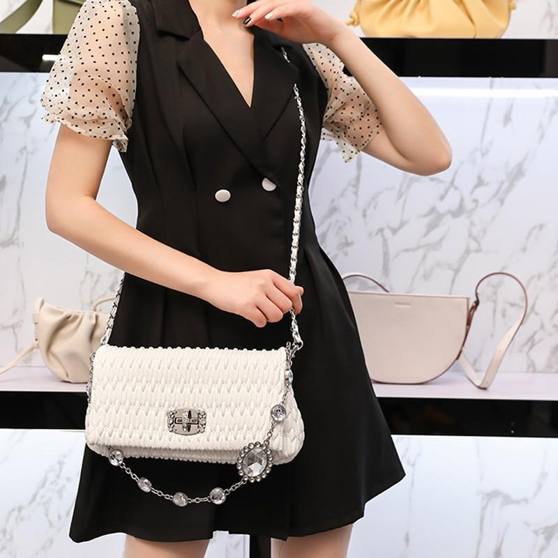 ☠ザ กระเป๋าเป้สะพายหลัง★★★❤🔥🔥กระเป๋ากระเป๋าเดินทาง  MK x Star กระเป๋าหนังแท้สำหรับผู้หญิงกระเป๋าใบเล็กสำหรับฤดูร้อนแบบใ