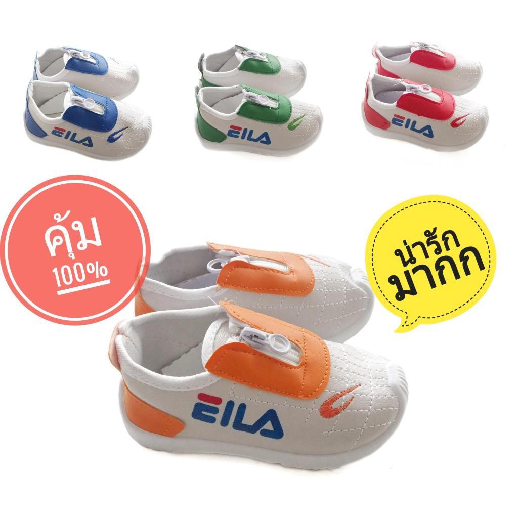 Sustainable รองเท้าผ้าใบเด็ก EILA รองเท้าผ้าใบเด็กผู้ชาย รองเท้ากีฬาเด็ก รองเท้าผ้าใบเด็ก คัชชูเด็ก รองเท้าคัชชูเด็ก รอง