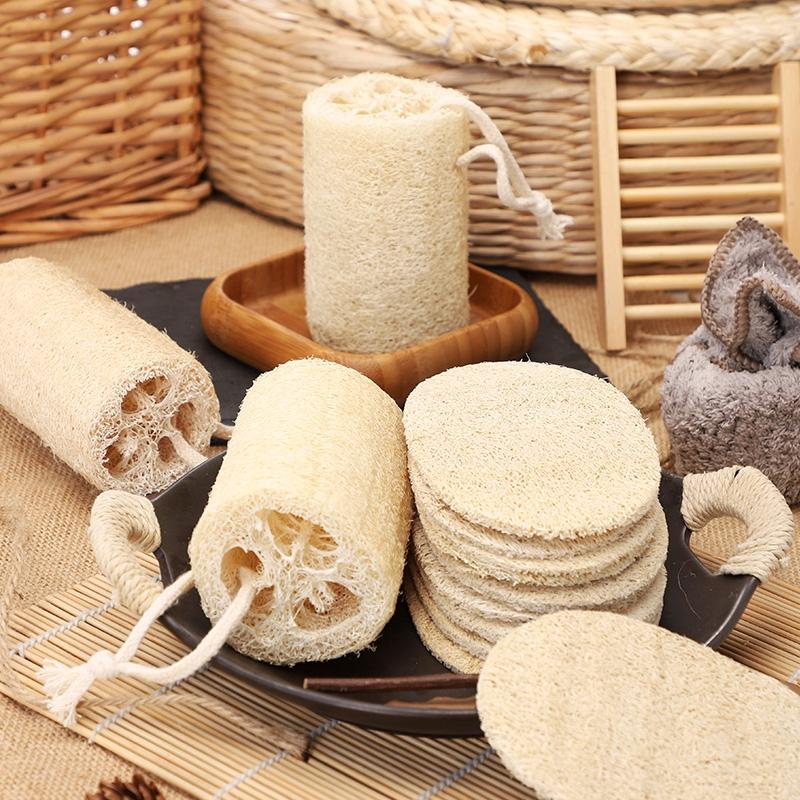 แปรงล้างจานแปรงจานแปรงซักผ้ารังบวบมะระเถาหม้อครัวขัดหนาธรรมชาติเก่าน้ำยาล้างจานพระเจ้า