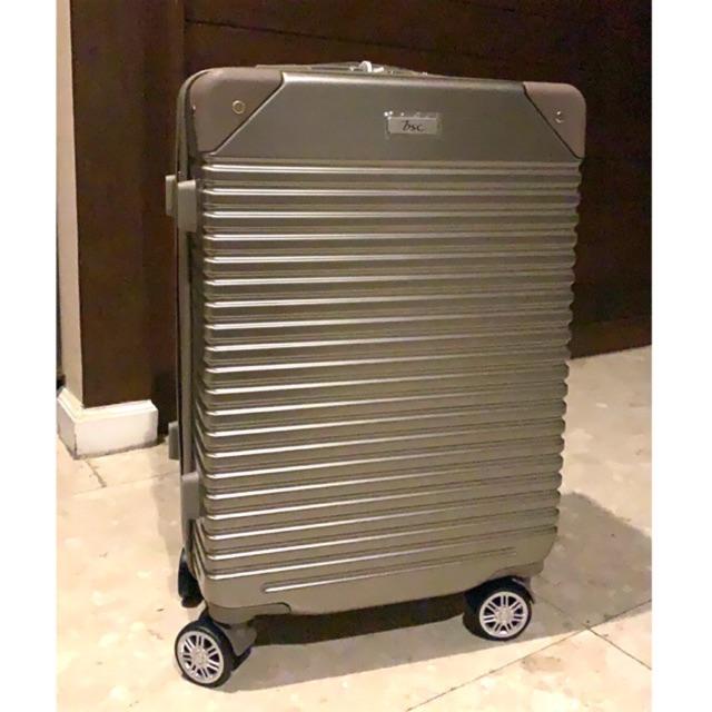 กระเป๋าเดินทาง BSC 20 นิ้ว สีทอง รุ่น traveller