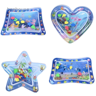 Upgrade Tummy Time Baby Water Mat Infant Toys Inflatable Play Mats Newborn Play