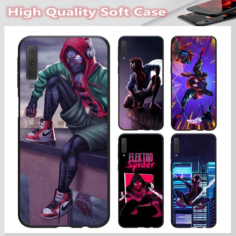 casing for SAMSUNG A2 CORE J7 Pro J7 PLUS A6 A6+ A7 A8 A8+ A8 Star A9 2018 Cover Spiderman Soft Case