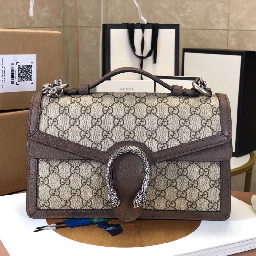 [กระเป่า]Gucci Dionysus กระเป๋าถือกระเป๋าสะพายหนังแท้กระเป๋าสะพายข้าง แบรนด์เนน กระเป๋าแฟชั่น