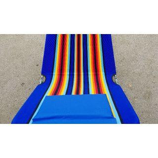 (เก็บเงินปลายทาง)เตียงพับเตียงชายหาดมีหมอน