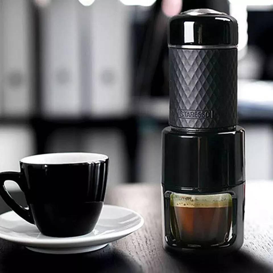 เครื่องทำกาแฟ เครื่องชงกาแฟแบบพกพา---สินค้าพร้อมส่ง---