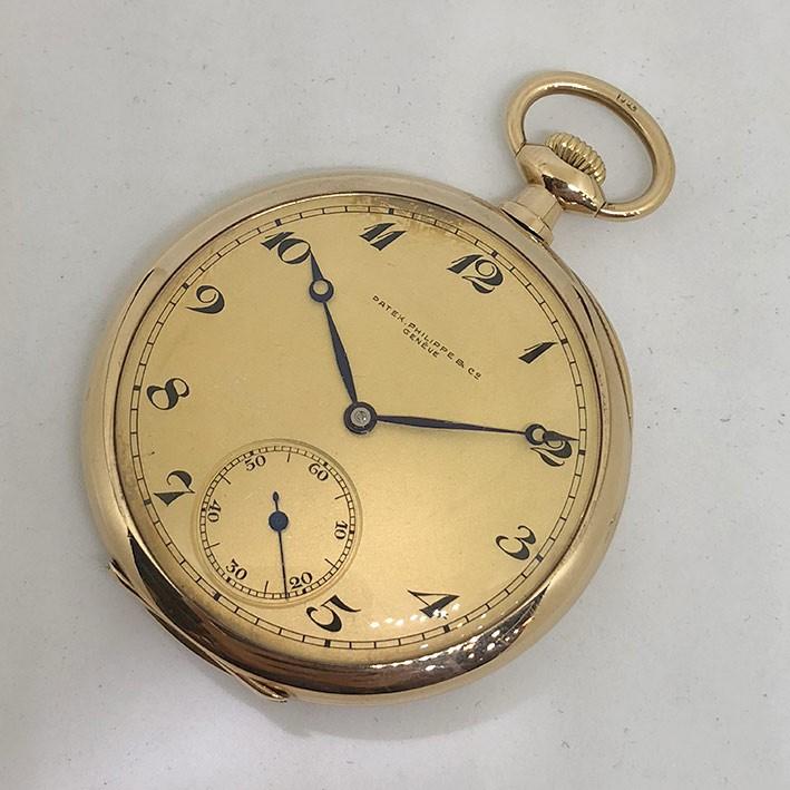 นาฬิกามือสอง ของแท้ นาฬิกาพกไขลาน PATEK PHILIPPE pocket watch 1900 ขนาดตัวเรือน 47 mm