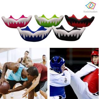 FCD☆ 1pc Football Mouth Guard Sports Lip Teeth Protective Gear for Boxing Lacrosse