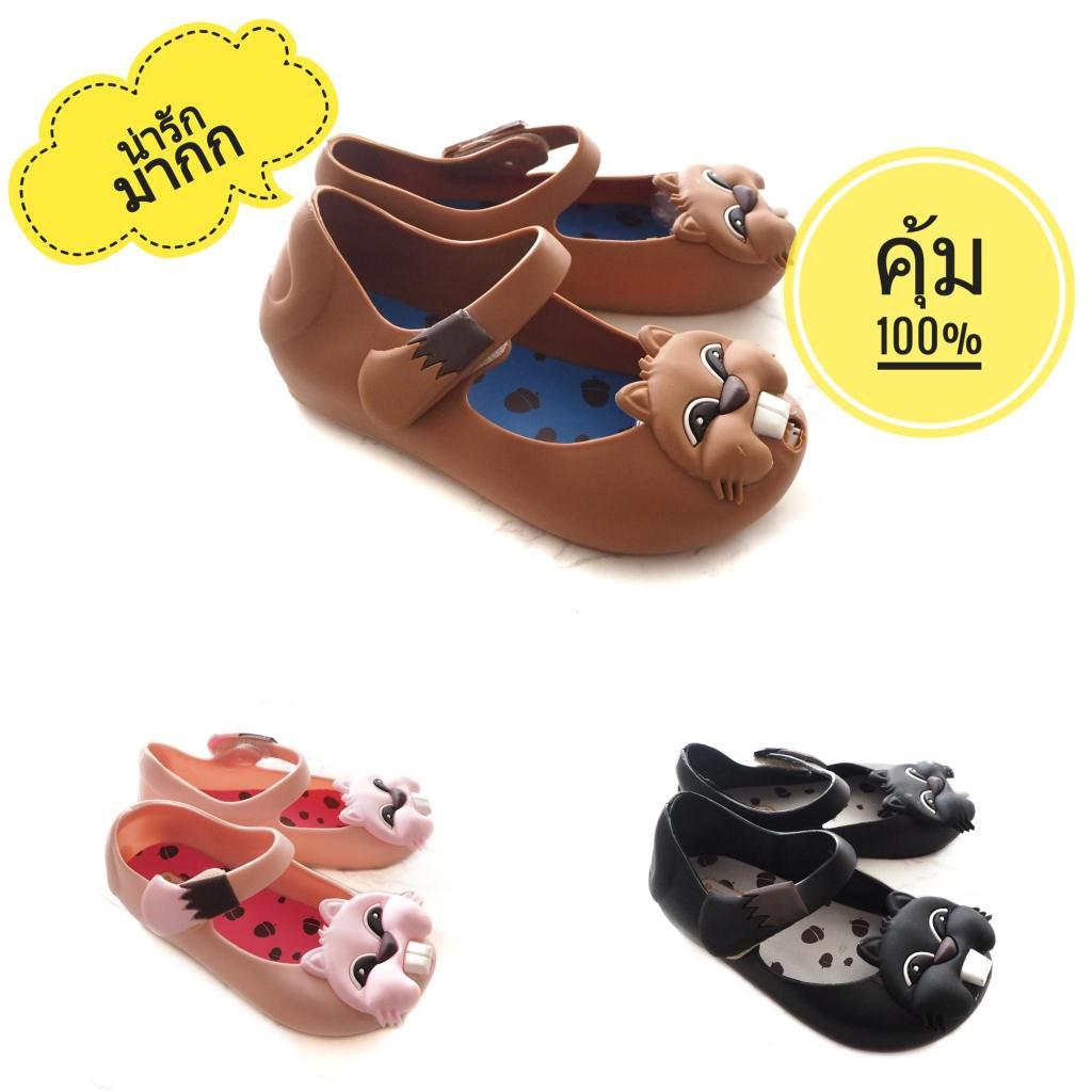 Sustainable รองเท้าคัชชูเด็กลายชิปมั้ง รองเท้าเด็กผู้หญิงกระรอกน้อย รองเท้าคัชชูเด็ก คัชชูเด็ก รองเท้าเด็กผู้หญิง รองเท้