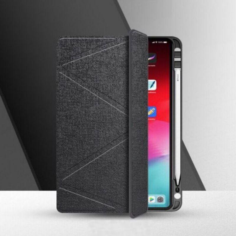 เคสไอแพดโปร มีที่เก็บปากกา (Apple Pencil) Logferแท้ รุ่นPro11 2021 iPad10.5/Air3 iPad10.2 Gen7 2019 iPad9 7/Air1/Air2 Sd