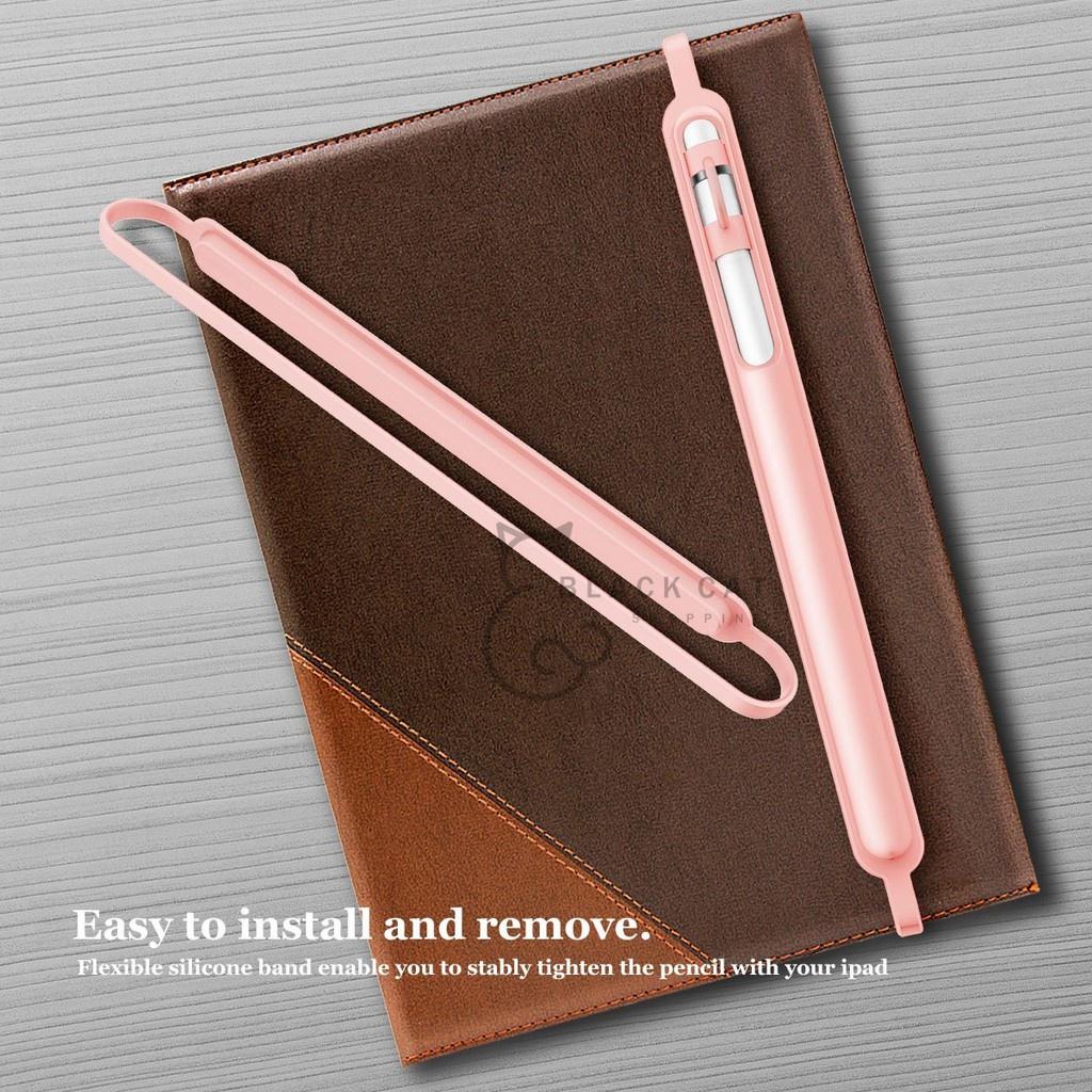 ✇❣💥โค้ดลด10%💥 สายรัดปากกา Apple pencil Case ปลอกปากกา apple pencil เคสซิลิโคน กันหาย กันกระแทก Apple Pencil Case   #A2