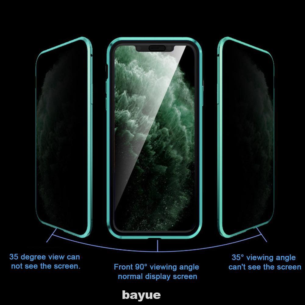 เคสโทรศัพท์มือถือแบบสองด้านสําหรับ Iphone11 Pro Max