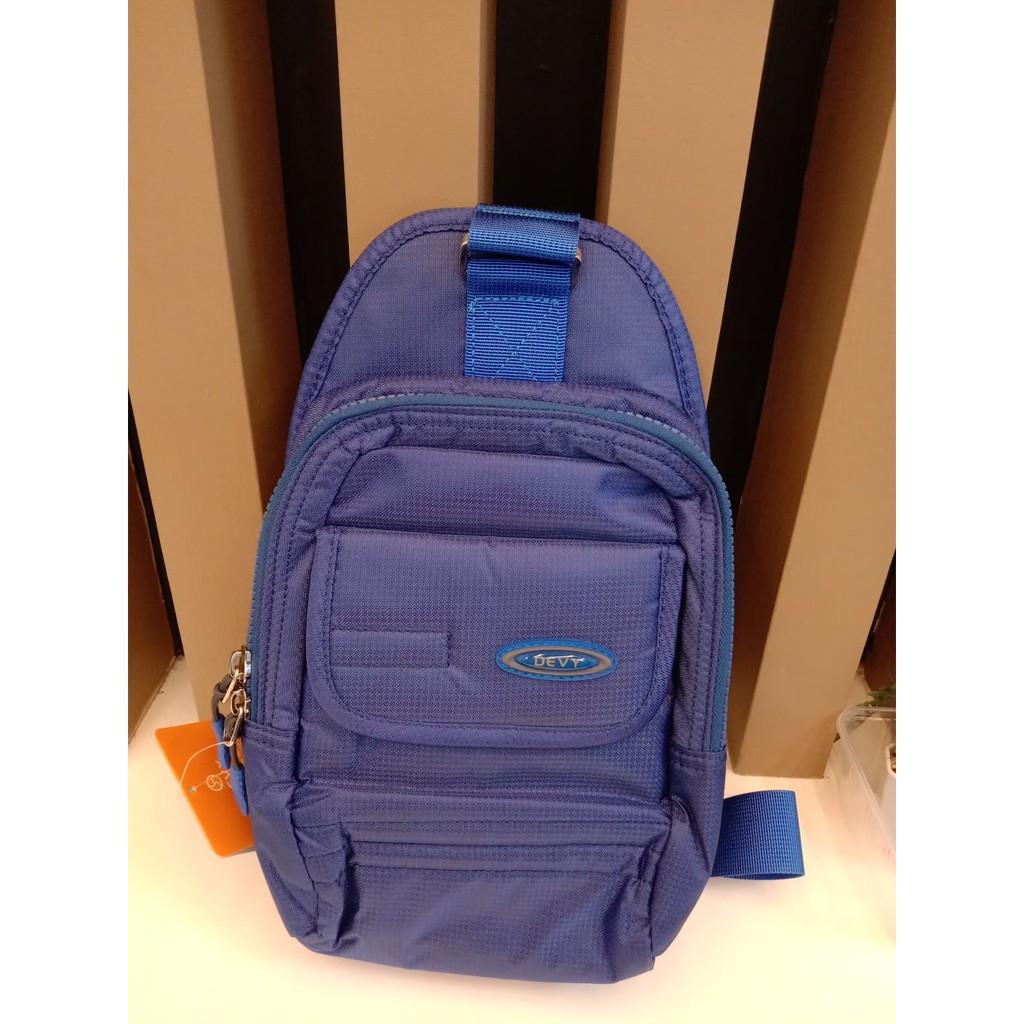 กระเป๋าสะพายข้าง DEVY สีน้ำเงิน