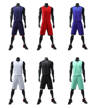 Customize Basketball Team Jersey Shorts Set Design Logo Stitch Print Name Number Sport Training T-Shirts Breathable Unif