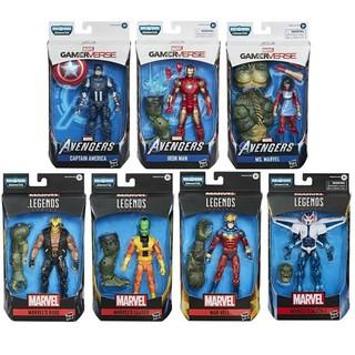 4/'/' Marvel Universe Loose Blue Deadpool New Super Hero Action Figure X-Men Toy