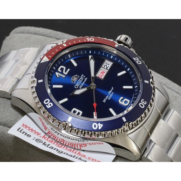 นาฬิกา Orient Mako II Automatic รุ่น AA02009D (ใหม่แท้ประกันศูนย์ไทย)
