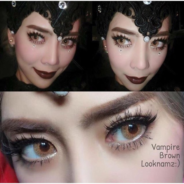 vampire twilight brown | dia 14.5