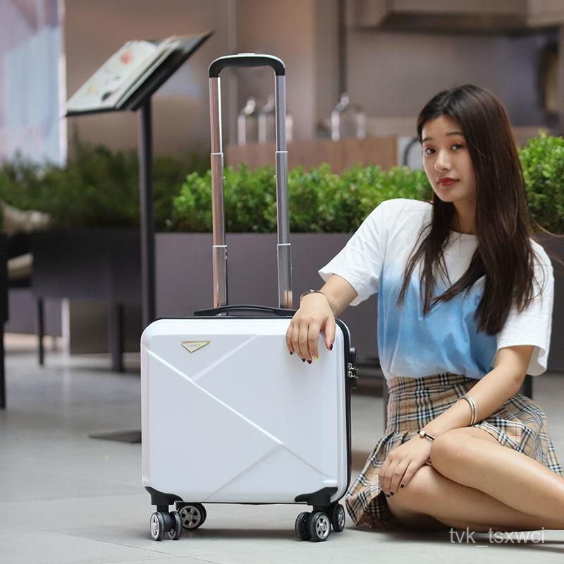 กระเป๋าเดินทาง【Baopei】18นิ้วกระเป๋าเดินทางขนาดเล็กขนาดเล็กกล่องนิรภัย16นิ้วมินิกระเป๋าเดินทาง17เด็กน่ารักกล่องCOD xKxI