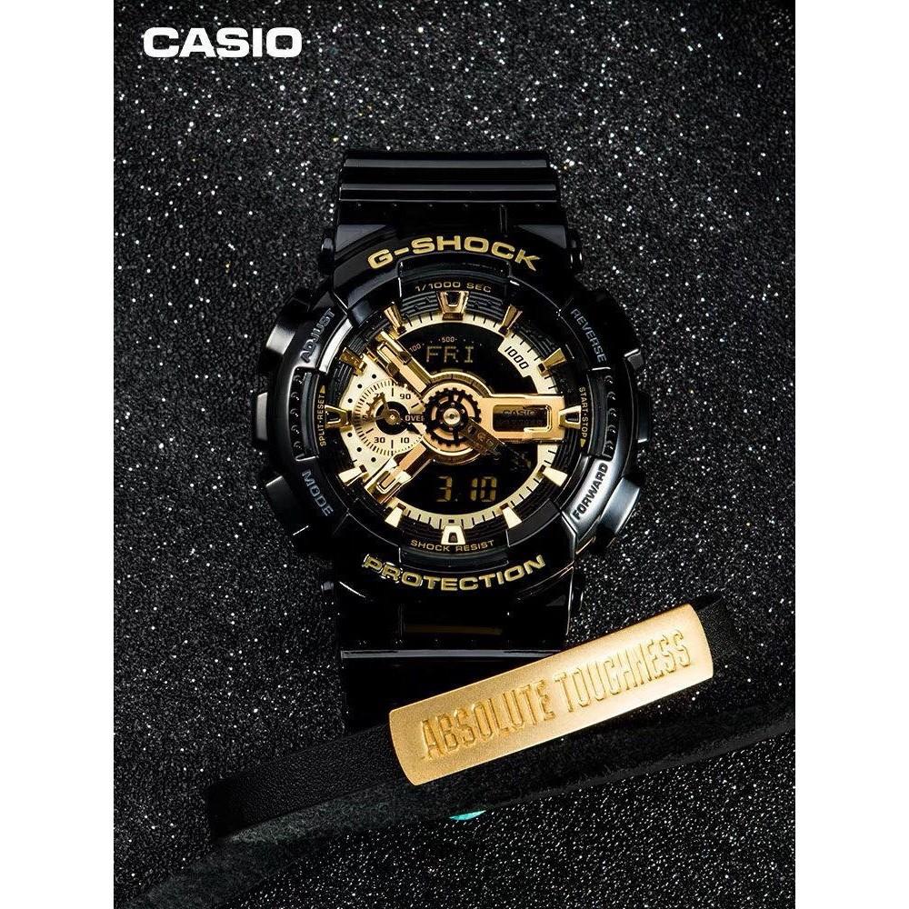 HOT【ต้นฉบับ】Casio GA 110GB-1A เบบี้จี G-Shock นาฬิกาข้อมือผู้ชายผู้หญิงนาฬิกาอิเล็กทรอนิกส์ COUPLE WATCH