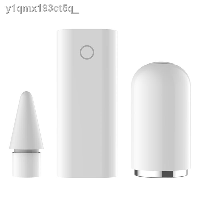 ปากกา CapacitiveCapacitive pen◑♣♟อะแดปเตอร์ชาร์จ Apple applepencil ปลายปากกาสไตลัส ipadpro ฝาครอบ air2 แท็บเล็ตทัชสกรีน