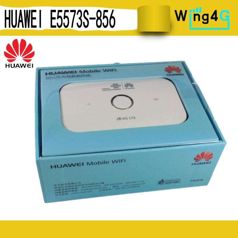 Unlocked Huawei E5573s-856 CAT4 150Mbps 4G LTE FDD 1800/2100MHz TDD  2300/2500MHz Wireless Router 3G Mobile WiFi Hotspot